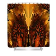 Fractal Abstract 15-01 Shower Curtain
