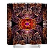 Fractal - Aztec - The Aztecs Shower Curtain