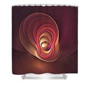 Fractal Oyster-1 Shower Curtain