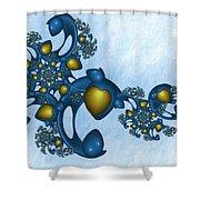 Fractal Tears Of Joy 2 Shower Curtain