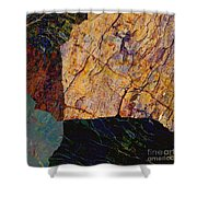 Fracture Section Ix Shower Curtain