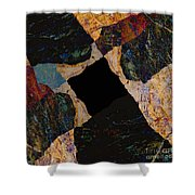 Fracture Section Vll Shower Curtain