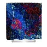 Fracture Section Xv Shower Curtain