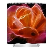 Fractured Love Shower Curtain