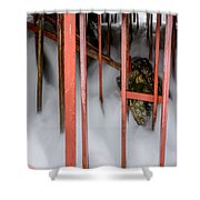 Fragile Attraction Shower Curtain
