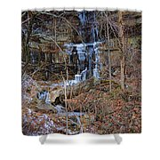 Fragility Of Ice Shower Curtain