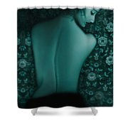 Fragility - Self Portrait Shower Curtain