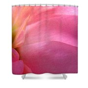 Fragment - Digital Painting Effect Shower Curtain