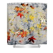 Fragments Of Fall Shower Curtain