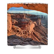 Framed Canyon Shower Curtain
