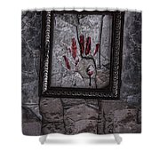 Framed Shower Curtain by Margie Hurwich