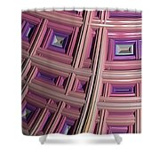 Frames Shower Curtain by Bill Owen