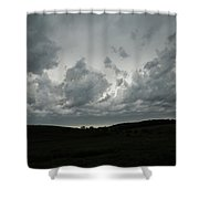 Framing The Land Shower Curtain