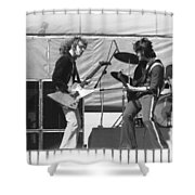 Jamming In Oakland 1976 Shower Curtain