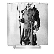 France Grenadier, 1860 Shower Curtain