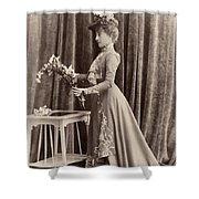France Woman, C1895 Shower Curtain
