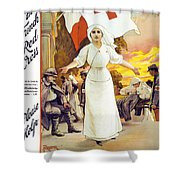 France's Day Shower Curtain by Anonymous