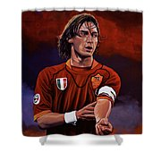 Francesco Totti Shower Curtain