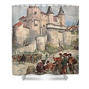 Francis I Held Prisoner In A Tower Shower Curtain