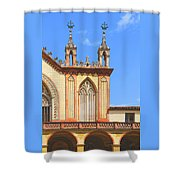 Franciscan Monastery In Nice France Shower Curtain by Ben and Raisa Gertsberg
