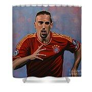 Franck Ribery Shower Curtain