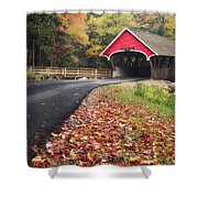 Franconia Notch State Park Shower Curtain