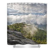 Franconia Notch State Park - New Hampshire White Mountains  Shower Curtain