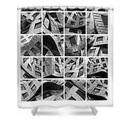 Frank Gehry's Lou Ruvo Center For Brain Health Shower Curtain