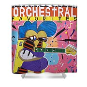 Frank Zappa Orchestral Favorites Shower Curtain