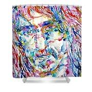 Frank Zappa  Portrait.3 Shower Curtain