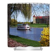 Frankenmuth Riverboat Shower Curtain