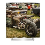 Frankenstein '28 Model A Sedan Shower Curtain