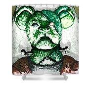 Frankenstein's Koala Shower Curtain