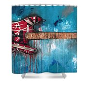 Frankenstrat Shower Curtain