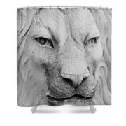 Frankie Lion Shower Curtain