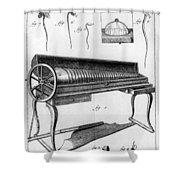 Franklin: Armonica, 1761 Shower Curtain