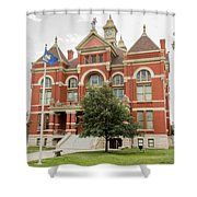 Franklin County Courthouse 2 Shower Curtain