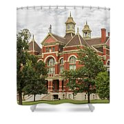 Franklin County Courthouse 3 Shower Curtain