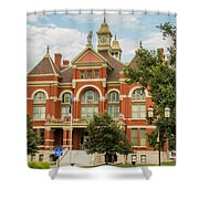 Franklin County Courthouse 4 Shower Curtain