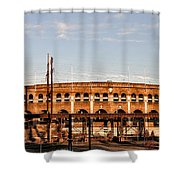 Franklin Field In The Morning Shower Curtain