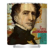 Franklin Pierce Shower Curtain