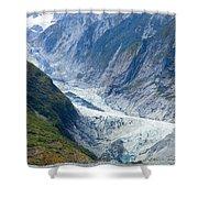 Franz Josef Glacier Shower Curtain