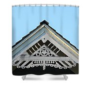Frat Work Heritage Shower Curtain
