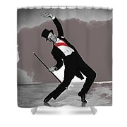 Fred Astaire Silk Stockings Publicity Photo 1957-2014 Shower Curtain