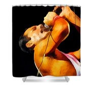 Freddie Mercury Queen Shower Curtain