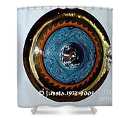 Freddie White Cymbal Earth Wind Fire Spirit Tour Shower Curtain