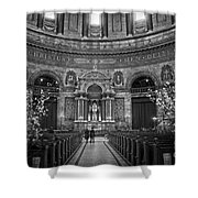 Frederik's Church Interior Shower Curtain