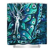 Free As The Sea Shower Curtain