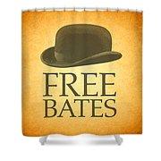 Free Bates Shower Curtain
