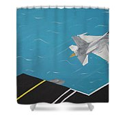 Free Bird Shower Curtain